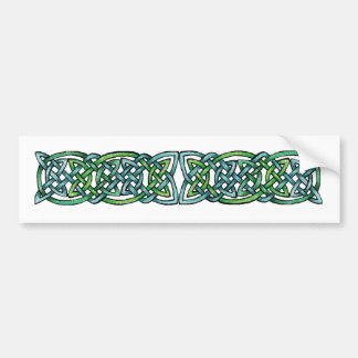 Emerald Labyrinth Bumper Sticker