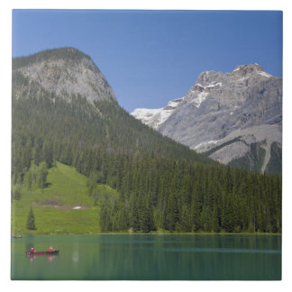 Emerald Lake, Canadian Rockies, British Large Square Tile