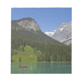 Emerald Lake, Canadian Rockies, British Notepad
