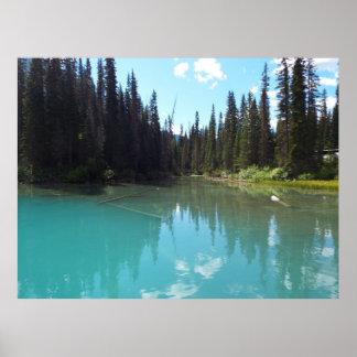 Emerald Lake Poster Print