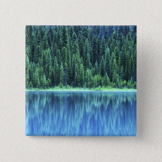 Emerald Lake, Yoho NP, BC, Canada 15 Cm Square Badge