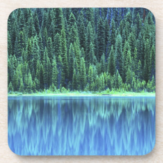 Emerald Lake, Yoho NP, BC, Canada Beverage Coaster