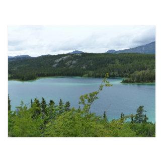 Emerald Lake, Yukon Territory Postcard