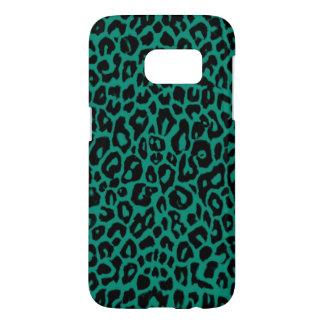 Emerald Leopard Skin Samsung Galaxy S7 Case
