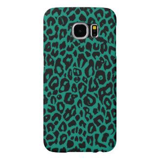 Emerald Leopard Skins Samsung Galaxy S6 Case Samsung Galaxy S6 Cases