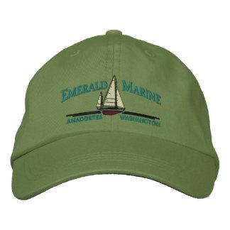 emerald marine hat embroidered baseball caps