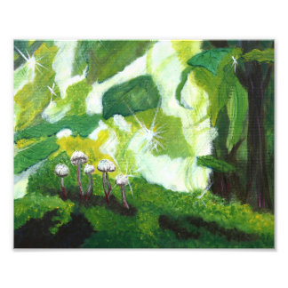 Emerald Mushrooms Photo