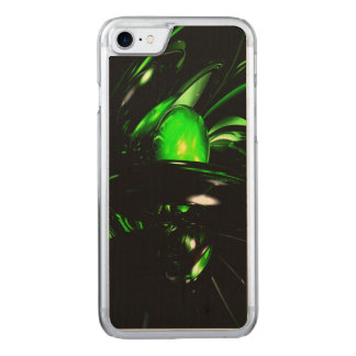 Emerald Nigthmares Abstract Carved iPhone 8/7 Case