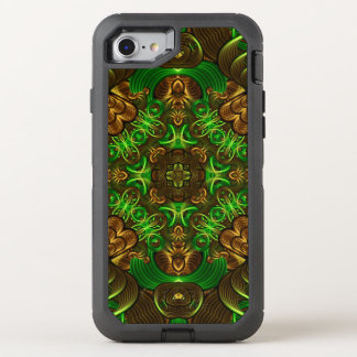 Emerald Path Mandala OtterBox Defender iPhone 7 Case