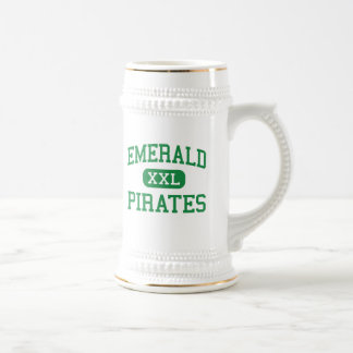 Emerald - Pirates - High - Greenwood Beer Steins