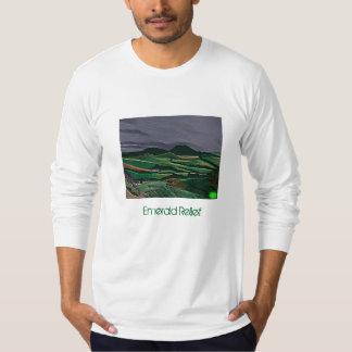 Emerald Relief tee