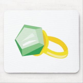Emerald Ring Mousepads