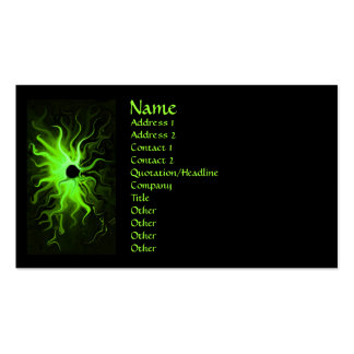 Emerald Ring of Fire business card
