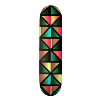 Emerald triangles skate board