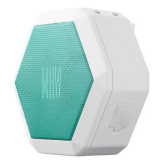 Emerald Turquoise Gradient custom monogram speaker