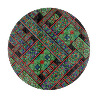 Emerald Twilight Stained Glass Chopping Board