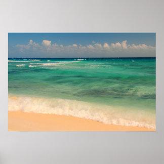 Emerald Waters, Mayan Riviera, Mexico Poster