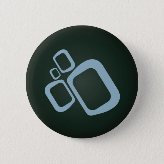 Emerge Digital - Black and Blue 6 Cm Round Badge