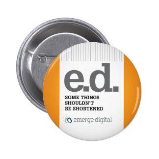 Emerge Digital - Short 6 Cm Round Badge