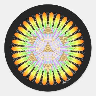 Emergence Round Sticker