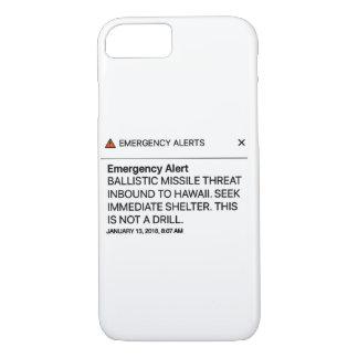 Emergency Alert iphone iPhone 8/7 Case