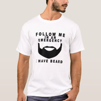 Emergency Beard T-shirt.png T-Shirt