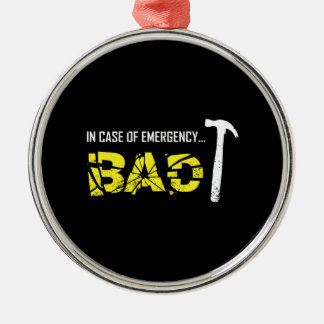 Emergency Break Christmas Ornament