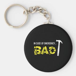 Emergency Break Key Ring