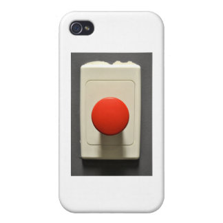 EMERGENCY BUTTON iPhone 4/4S COVER