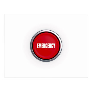 Emergency Button Post Cards