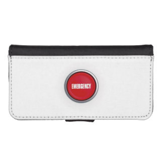 Emergency Button iPhone 5 Wallets