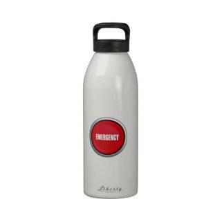 Emergency Button Reusable Water Bottles