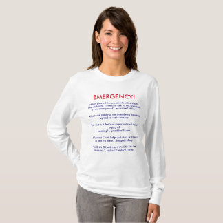 EMERGENCY CALL AT THE WHITE HOUSE T-Shirt