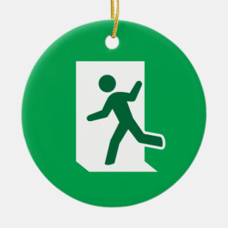 Emergency exit novelty ornament