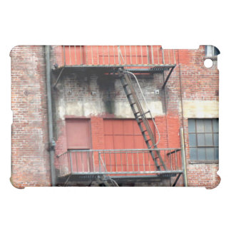 Emergency Fire Stairs iPad Mini Cases