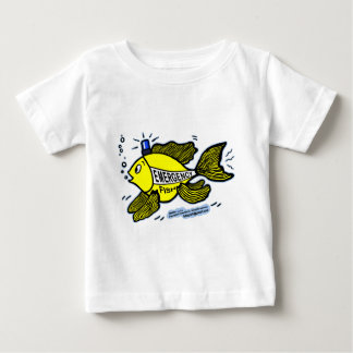 Emergency Fish with Blue Light Baby T-Shirt