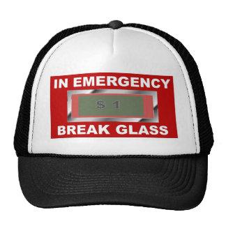 Emergency Glass Cap