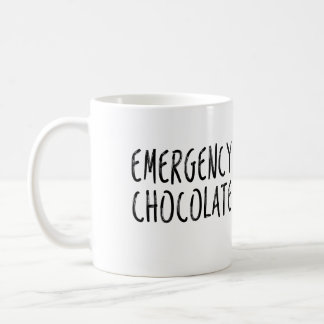 Emergency Hot Chocolate Get Well Soon Mug