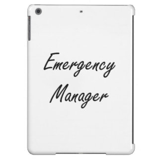 Emergency Manager Artistic Job Design iPad Air Cover