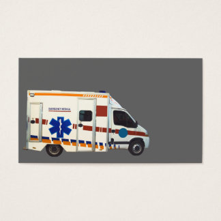 emergency medical business card