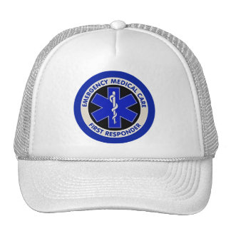 Emergency Medical Care First Responder Cap
