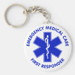 Emergency Medical Care First Responder Keychains