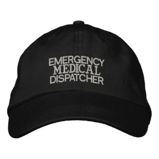 Emergency Medical Dispatcher Hat Embroidered Baseball Caps