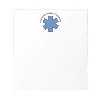 Emergency Medical Tech Notepad