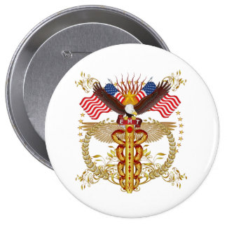 Emergency Medical Technician EMT-2R 10 Cm Round Badge
