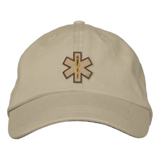 Emergency Medical Technician EMT Embroidery Baseball Cap