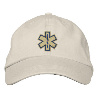 Emergency Medical Technician EMT Embroidery Embroidered Hats