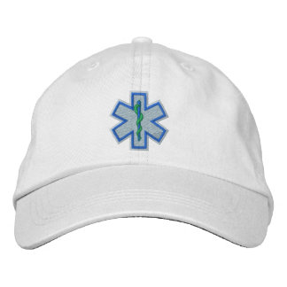 Emergency Medical Technician EMT Embroidery Embroidered Hat