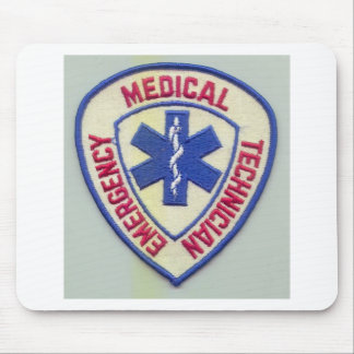 EMERGENCY MEDICAL TECHNICIAN EMT MOUSE PAD