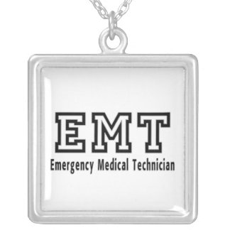 Emergency Medical Technician Personalized Necklace